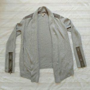 Banana Republic Cardigan Sweater Zipper Small